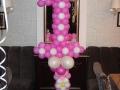 Цифра з повітряних кульок