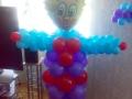 Клоун з повітряних кульок
