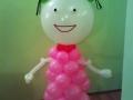Дівчинка з повітряних кульок