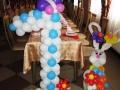 Цифри та фігури з повітряних кульок