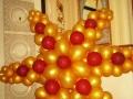 Зірка з повітряних кульок