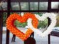 Серце з повітряних кульок