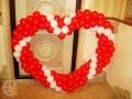 Серця з повітряних кульок