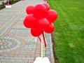 Стійка з повітряних кульок