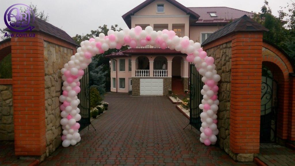 арка з шариків