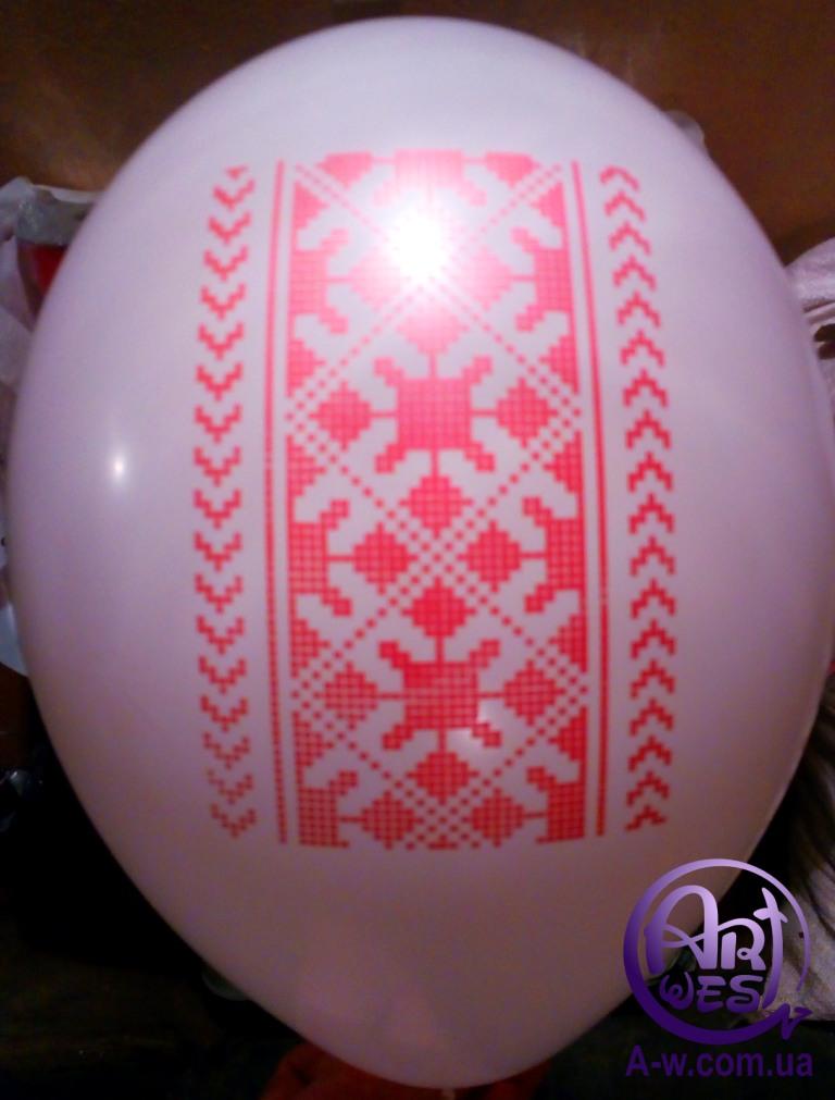 нанесення логотипу на кульку