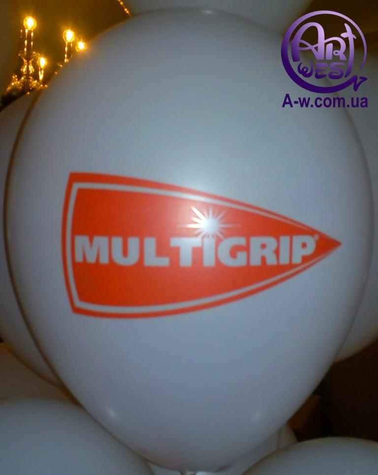 повітряна кулька з лого