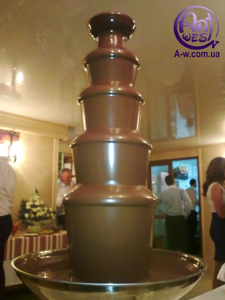 оренда шоколадних фонтанів у Львові